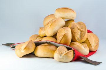 16 Brötchen zum Tragen, Brotbeutel