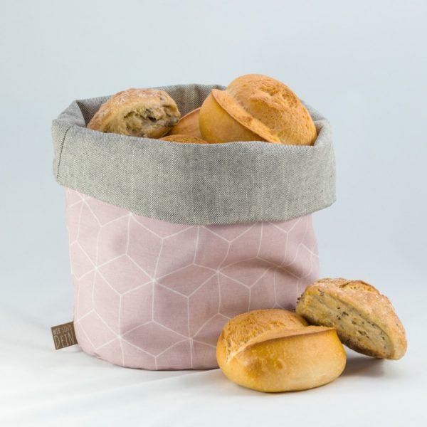 bunbag,bunbag-cubo rosa,Brotkorb,Brotbeutel,Brötchentasche