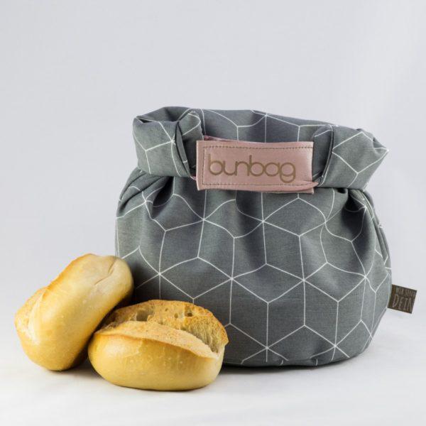 bunbag,bunbag-cubo grigio,Brotkorb,Brotbeutel,Brötchentasche