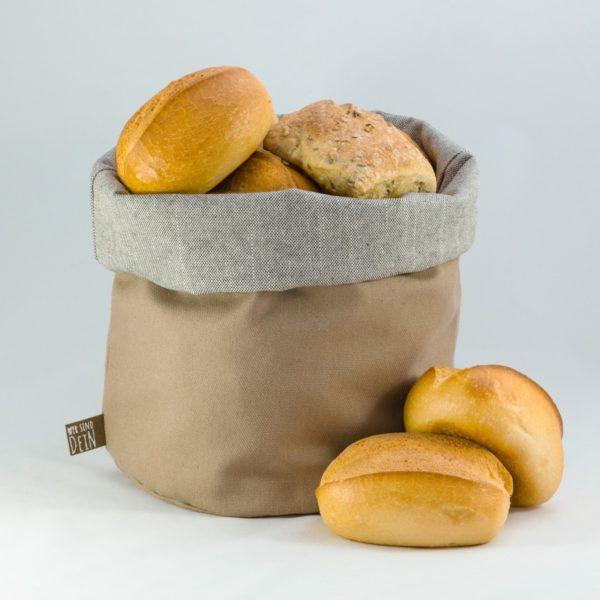bunbag,bunbag-Natur pur,Brotkorb,Brotbeutel,Brötchentasche