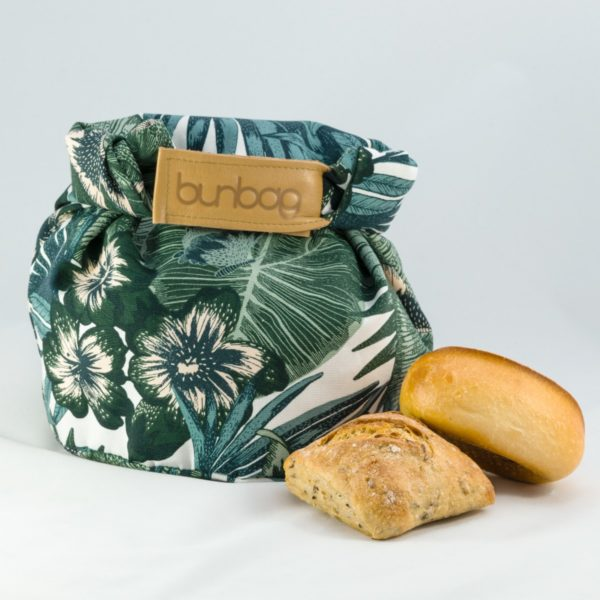 bunbag,bunbag-cosy jungle,Brotkorb,Brotbeutel,Brötchentasche