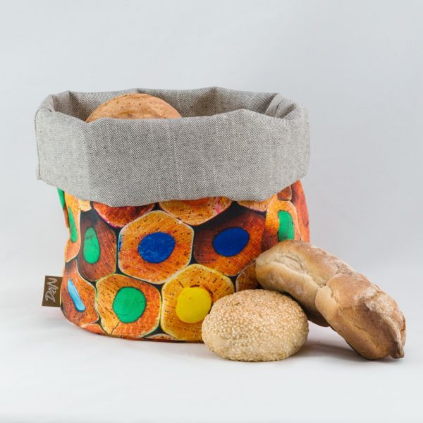 bunbag,bunbag-Buntstifte,Brotkorb,Brotbeutel,Brötchentasche