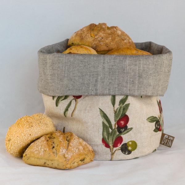 bunbag,bunbag-Olivia,Brotkorb,Brotbeutel,Brötchentasche