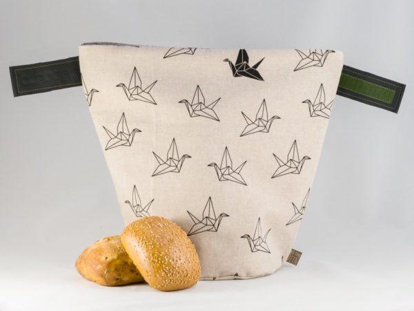 bunbag,bunbag-Origami Birds,Brotkorb,Brotbeutel