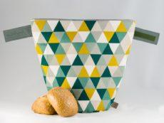 bunbag,bunbag-Triangolo gialli,Brotkorb,Brotbeutel