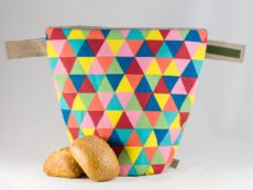 bunbag,bunbag-triangoli colorati,Brotkorb,Brotbeutel