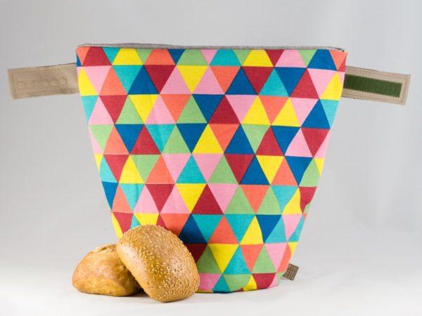 bunbag,bunbag-triangoli colorati,Brotkorb,Brotbeutel