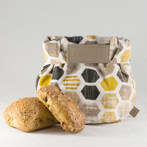 bunbag,bunbag-Strukturwabe,Brotkorb,Brotbeutel,Brötchentasche