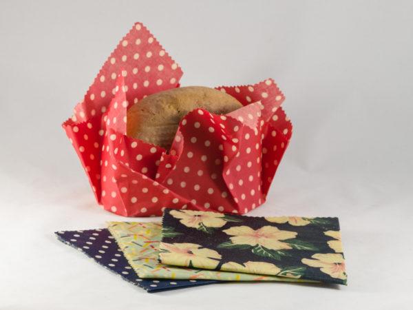 eco bee Wachstücher, Brotlagerung im bunbag
