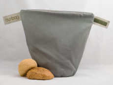 bunbag,bunbag-of-Grey,Brotkorb,Brotbeutel,Brötchentasche