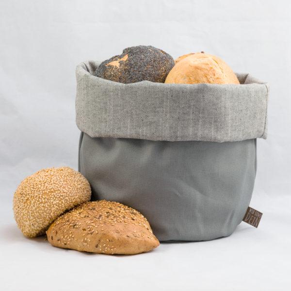 bunbag,bunbag-of-Grey,Brotkorb,Brotbeutel,Brötchentasche