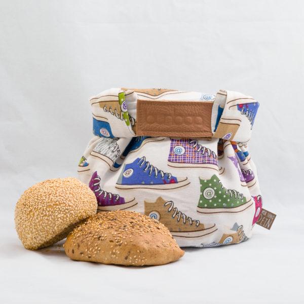 bunbag,bunbag-Sneaker,Brotkorb,Brotbeutel,Brötchentasche