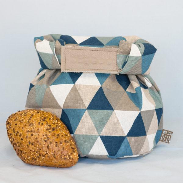 bunbag, bunbag-triangoli blu