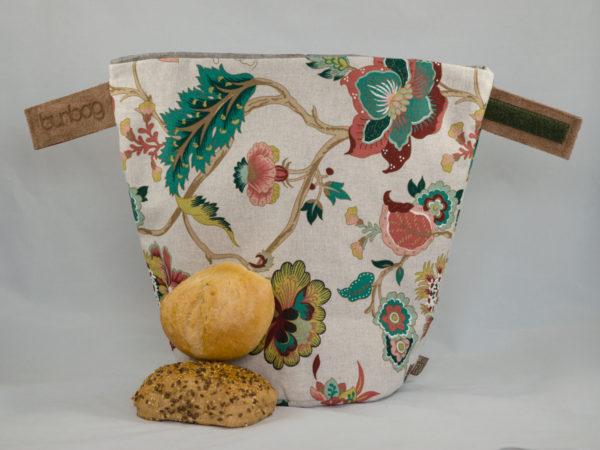bunbag, floralia, brotkorb, brotbeutel